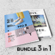 Magazine Bundle 3 in 1 - GraphicRiver Item for Sale