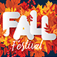 Fall Festival Flyer and Facebook Cover - GraphicRiver Item for Sale