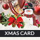 Greeting Christmas Card and Postcard - GraphicRiver Item for Sale