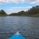 Kayak Sailing On The River - VideoHive Item for Sale
