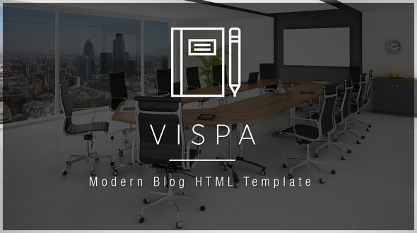 Vispa – Business Blog HTML Template