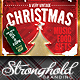 Download Vintage Christmas Neon Event Flyer from GraphicRiver