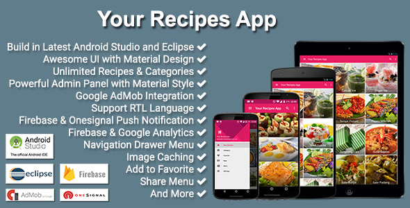 Your recipes app by solodroid codecanyon your recipes app codecanyon item for sale forumfinder Image collections
