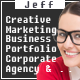 Jeff - OnePage and Multipage Creative , Corporate Agency, Business and Portfolio  HTML Template