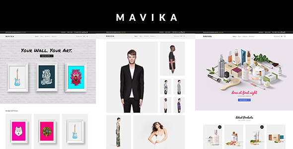 Mavika – WooCommerce Shop Theme