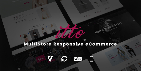Itto - Multistore Ecommerce WordPress Theme - WooCommerce eCommerce