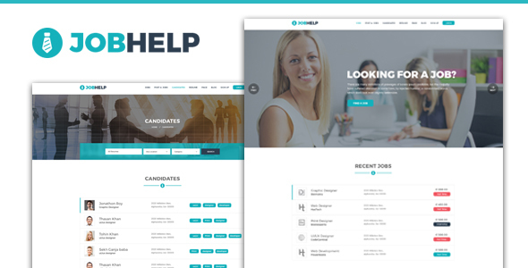 Jobhelp – Job Board Responsive Template