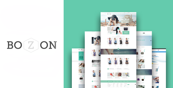 Bozon - eCommerce Fashion Template - Fashion Retail