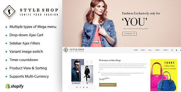 Image of Hi Fashion | Boutique Shopify Template