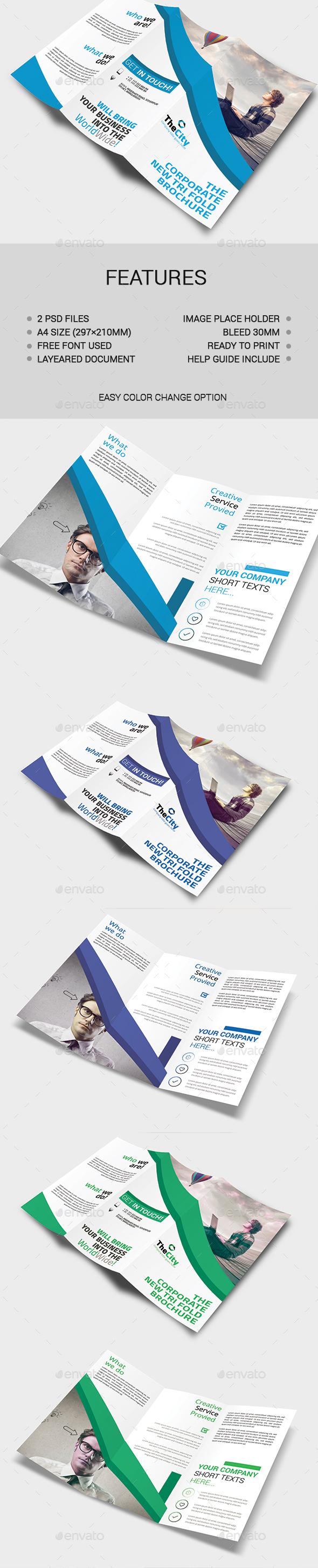 Tri-Fold Brochure - Brochures Print Templates