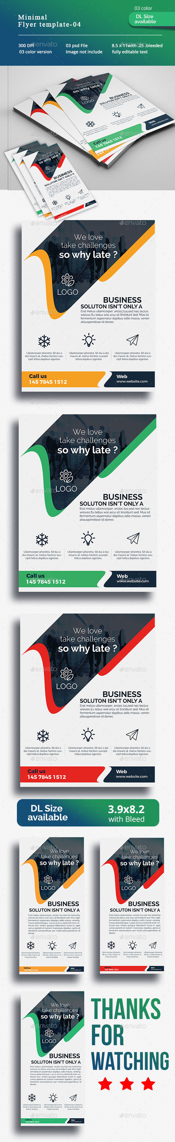 Minimal Flyer-04 - Corporate Flyers