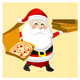 Pizza Delivery with Santa Claus - VideoHive Item for Sale