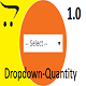 Dropdown Quantity for Opencart