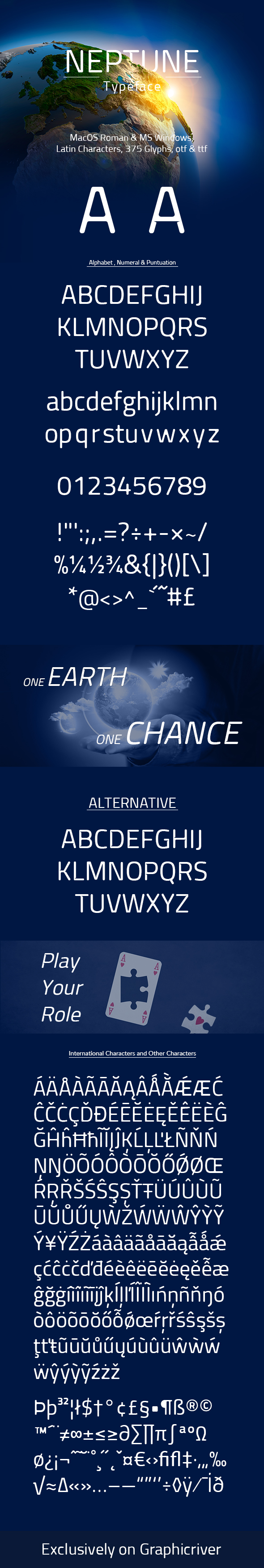Neptune - Sans-Serif Fonts