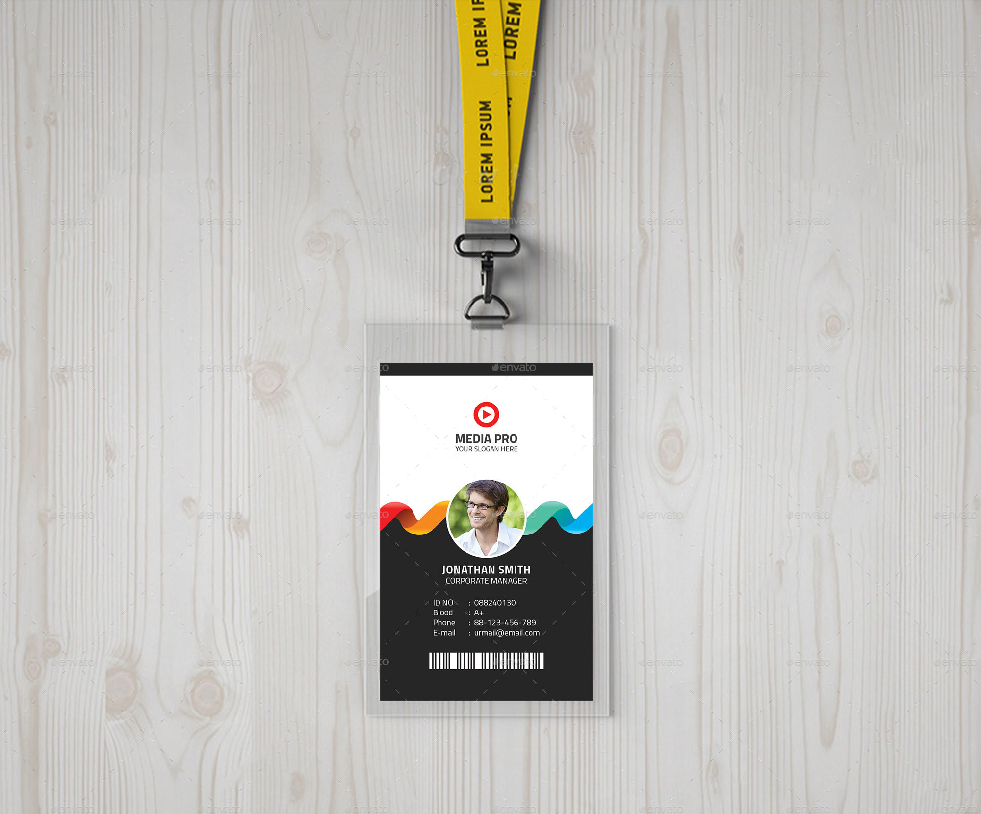 id card by tauhid1989
