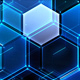 Hexagons Tech Background - VideoHive Item for Sale
