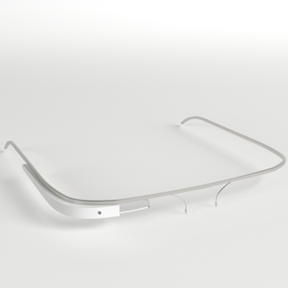 Google Glass - 3DOcean Item for Sale