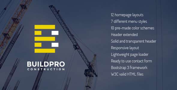 BuildPro – Construction and Building Website Template