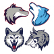 Wolf Mascot Logo - GraphicRiver Item for Sale