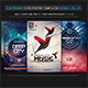 Electro Music Flyer Bundle Vol. 33 - GraphicRiver Item for Sale