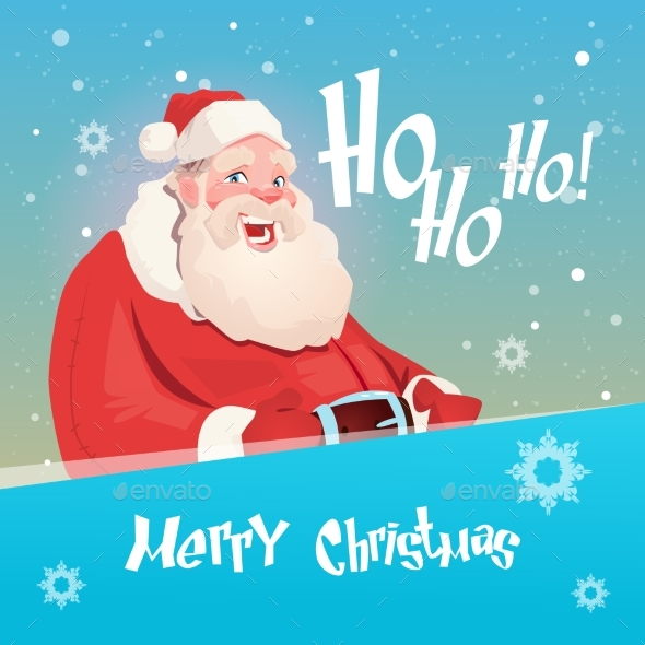 Santa Claus Christmas Holiday Happy New Year - Christmas Seasons/Holidays