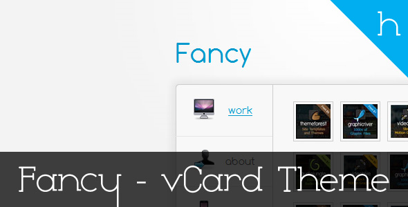 Free Download Fancy - Professional vCard Theme Nulled Latest Version
