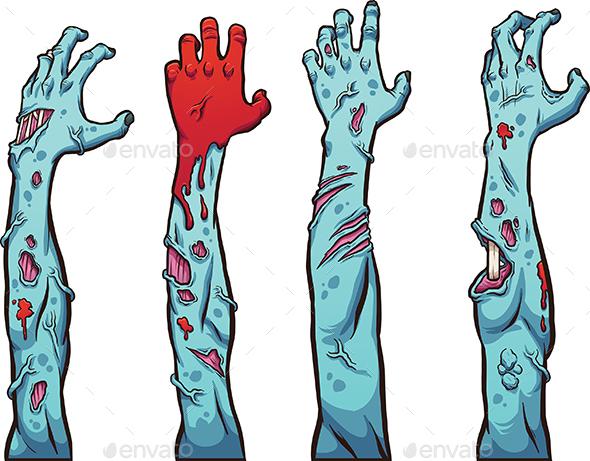 Zombie Hands - Halloween Seasons/Holidays