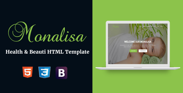 Monalisa - Health & Beauti HTML Template - Health & Beauty Retail