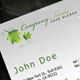 Gray and Green business card - GraphicRiver Item for Sale