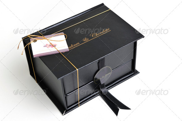 chocolate and praline box - Stock Photo - Images