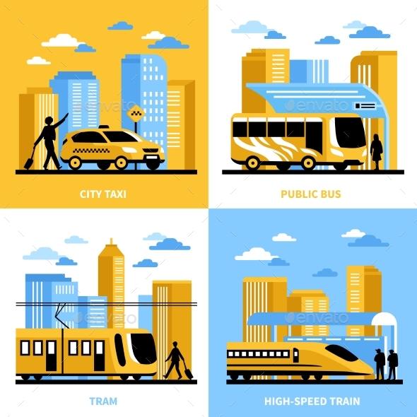 City Transportation 2X2 Design Concept - Travel Conceptual