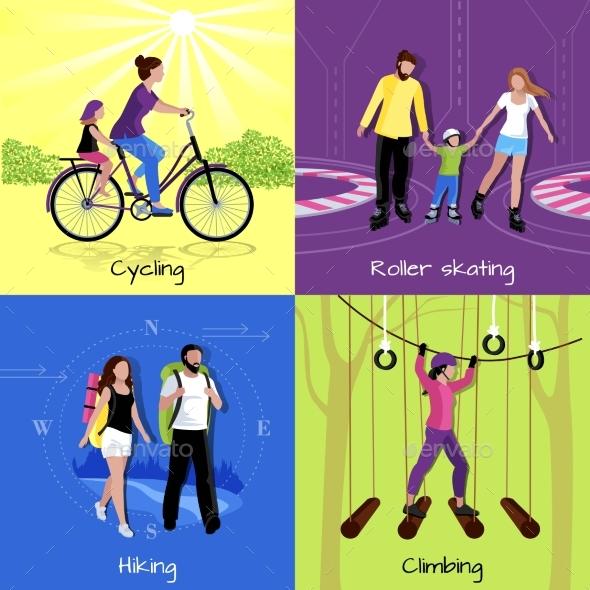 Active Leisure Concept - Travel Conceptual