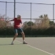 Teenager Playing Tennis Fulfills Supply - VideoHive Item for Sale
