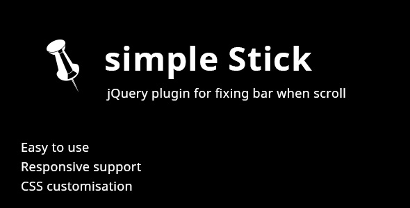 simple Stick jQuery plugin - CodeCanyon Item for Sale