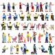 Flat People Vector Set - GraphicRiver Item for Sale