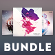 Abstract CD Cover Bundle Vol.02 - GraphicRiver Item for Sale