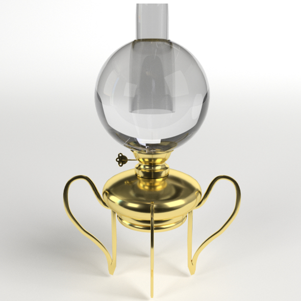 Oil Lamp - 3DOcean Item for Sale