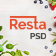 Resta - Restaurant PSD Template - ThemeForest Item for Sale