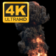 4K Hyperealistic Large Scale Smoke and Fire Ver.03 - VideoHive Item for Sale