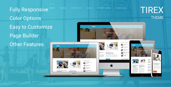 Tirex – Responsive Multi-Purpose Theme