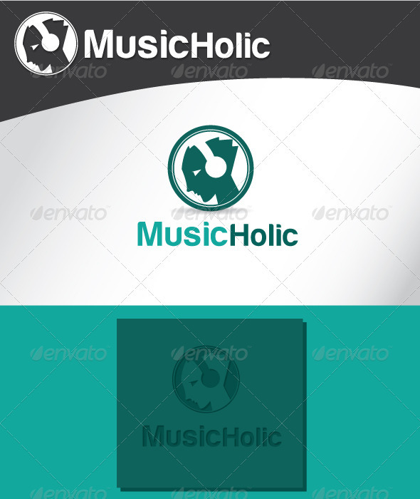 Music Holic Logo - Humans Logo Templates