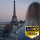 Girl on Paris Rooftop - VideoHive Item for Sale