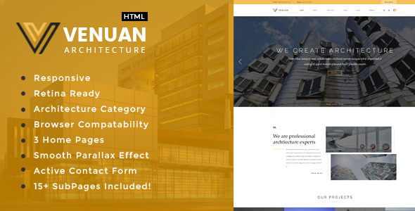 Venuan – Architecture, Interior and Renovation Template