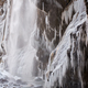 Frozen beautiful waterfall in winter - PhotoDune Item for Sale