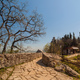 Stone road to the Cesta tower, De La Fratta in San Marino Republic - PhotoDune Item for Sale