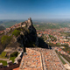 Panoramic view of the fortress of Guaita in San Marino Republic - PhotoDune Item for Sale
