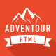 Adventour - Landing Page HTML / CSS Template Nulled