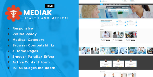 Medik – Health And Medical HTML Template