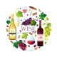 Wine Set Vector. - GraphicRiver Item for Sale