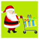 Product Delivery with Santa Claus - VideoHive Item for Sale